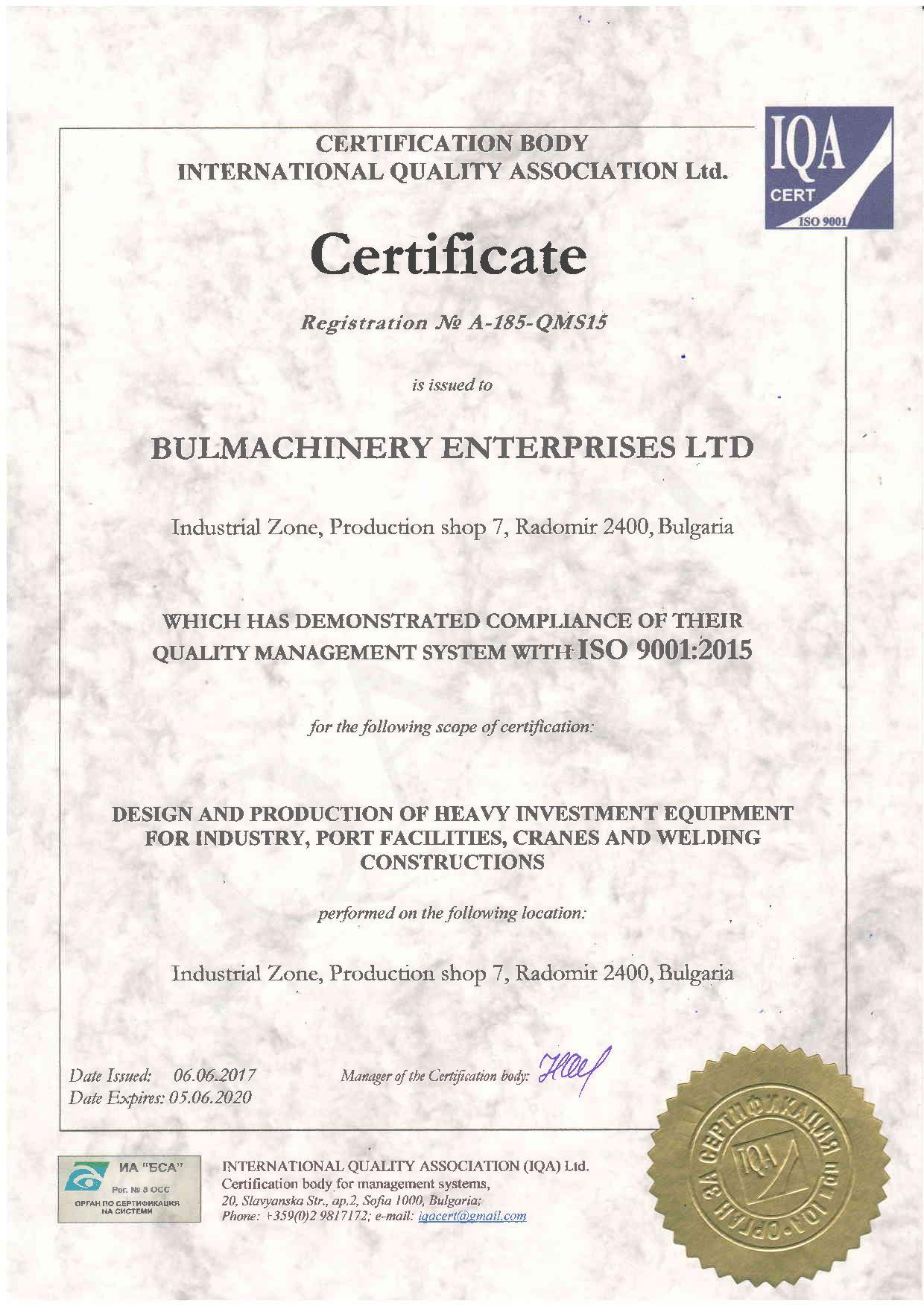 ISO 9001-2015 EN